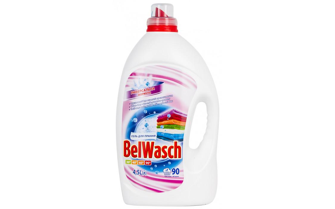 Гель для стирки BelWasch Универсальный 4,5 л., 90 циклов