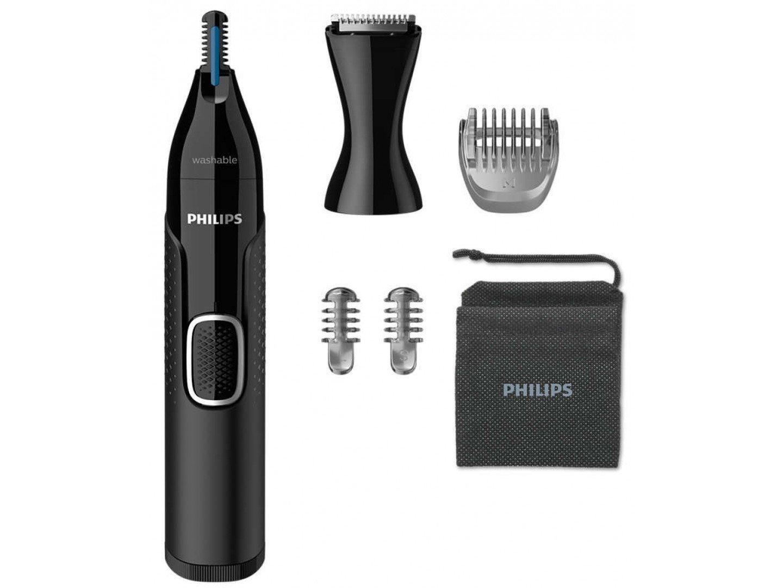 Триммер для носа и ушей/ Триммер для бороды и усов Philips NT5650/16