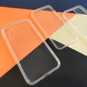 Прозрачный чехол с матовым ободком на IPhone 6/6S