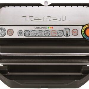 Электрогриль прижимной Tefal OptiGrill+ GC716 (GC716D12)