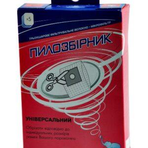 Мешок для пылесоса одноразовый + фильтр СЛОН UNI C-III