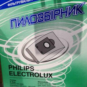 Мешок для пылесоса многоразовый + фильтр СЛОН Philips/Electrolux P-03 C-I
